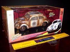 1/18 diecast tv and movie cars for sale pinterest   Diecast 1 18 Herbie The Love Bug Junkyard Junk Yard New   eBay