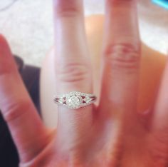 It's official... Carl & I are engaged!