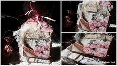 Rękodzieło- wystrój wnętrz,decoupage,cardmakig,kosmetyki, mydła,blog, blogspot , : Kartka tagowa w stylu vintage Cardmaking, Decoupage, Shabby Chic, Gift Wrapping, Blog, Gifts, Vintage, Paper Wrapping, Making Cards