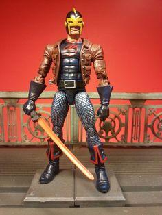 Black Knight (Marvel Legends) Custom Action Figure by masterpiece Base figure: Hobgoblin