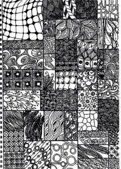Check Out How Easy And Relaxing It Is To Zentangle With This Project