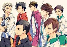 Haikyuu!! | HQ!! | Captains