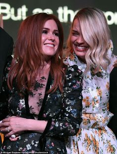 Margot Robbie and Isla Fisher are the greatest friends  Theyre two of Australias brightest stars whove both forged extremely successful careers in Hollywood.  And on Saturday Margot Robbie 27 and Isla Fisher 41 were inseparable at the annual GDay USA event.  Both wearing floral dresses the actresses appeared to enjoy a joke together as they were seen in fits of laughter.  Latest Hollywood friends: On Saturday Margot Robbie 27 and Isla Fisher 41 were inseparable at the annual GDay USA event…