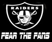 New Custom Screen Printed T-Shirt   Oakland Raiders Fear Fans Blow Out Sale On All Screen Printed T-shirts!! NO MINIMUM ORDER FREE SHIP www.shop.dscreenprintedtshirts.com