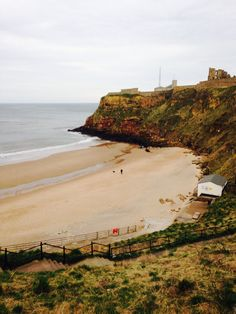 King Edwards bay beach and tynemouth priory 7.02 am Wednesday 19 th match 2014