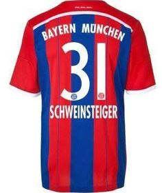 7f1b5b885c2 bayern munich schweinsteiger jersey - Google Search Jersey Shirt, Soccer  Jerseys, Football Shirts,
