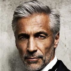 Hairstyles For Older Men - Classic Side Part + Stubble Beard - Beard Tips Mens Hairstyles Side Part, Best Hairstyles For Older Men, Older Men Haircuts, Trendy Mens Hairstyles, Men's Hairstyles, Classic Hairstyles, Black Hairstyles, Men's Haircuts, Hair And Beard Styles