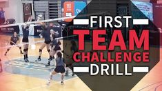 First team challenge drill Volleyball Warm Ups, Volleyball Games, Volleyball Workouts, Coaching Volleyball, University Of San Diego, Basketball Uniforms, Basketball Shoes, Team Challenges, Mountain Climbers