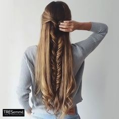 Trenza Espiga Media Cola – Fishtail Braid Long #TRESemméPerú