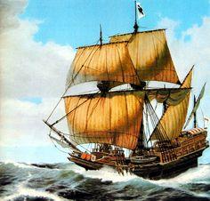 Galeón español del Siglo XVI