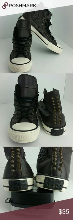 UNISEX CONVERSE MEN SZ 5 WOMEN SZ 7 VERY CLEAN INSIDE-OUT   SKE # KM5-PO CONVERSE  Shoes Sneakers