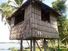 kumbalangi - coconut leaf house