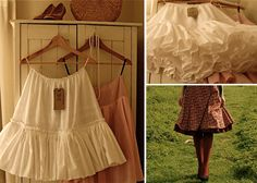 Cation Designs: House of Olivier, This Is Not // a neat walk-through on how she turned a skirt into a light petticoat