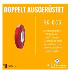 RK 855 - Doppelseitiges Klebeband #Krueckemeyer #Klebeband #Kleben #Adhesive #Tape #Doppelseitiges