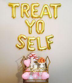 Treat Yo Self Balloon Letter Kit Treat Yo Self Treat Yo Self