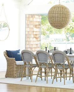 313 best Coastal Dining Rooms images on Pinterest in 2018   Coastal     Sunwashed Riviera Side Chair