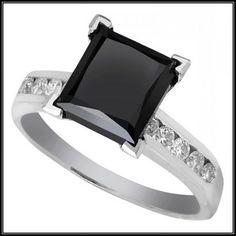 Stunning Black Diamond Wedding Rings Vintage More Design  http://articleall.com/black-wedding-band/black-diamond-wedding-rings-vintage/