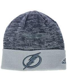 adidas Tampa Bay Lightning Two Tone Knit Hat Men - Sports Fan Shop By Lids  - Macy s fb2531b2a695