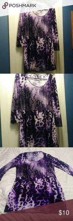 Women's Milano Purple Top. size Large Women's Milano Purple Top. size Large. 95% polyester. 5 % spandex. Milano Tops