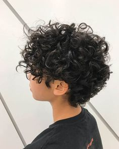 Cute Short Curly Hairstyles, Short Curly Pixie, Curly Hair Styles, Curly Hair With Bangs, Haircuts For Curly Hair, Short Pixie Haircuts, Curly Hair Cuts, Long Curly Hair, Pixie Hairstyles