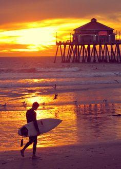 Surf... in Huntington Beach