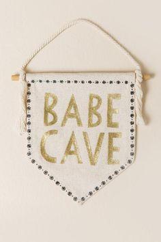Babe Cave Mini Banner $8.00