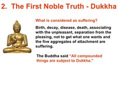 first noble truth of buddhism