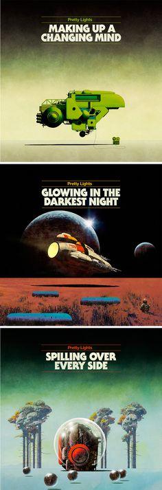 Pretty Lights album covers by Dan McPharlin
