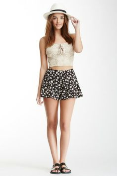 Blu Pepper Printed Short by Non Specific on @HauteLook