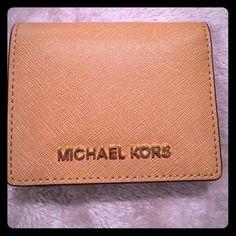 !!SOLD!! Michael kors peanut colors wallet Brand new wallet! Comes in the color peanut Michael Kors Bags Wallets