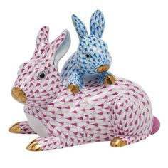 Kc 2013 Mother & Baby Bunny 4., Shaded Vhp + Vhb | Gracious Style