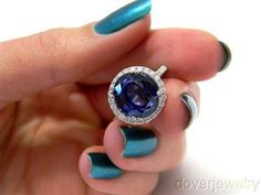 sapphire engagement ring...8.75 carats. why not?