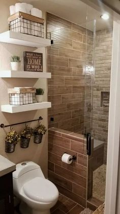 Life-changing bathroom remodel ideas for small spaces Looking to update your bathroom? Check out these affordable small bathroom remodel ideas and designs. Get inspired for your next home remodeling project. House Bathroom, Bathroom Remodel Shower, Bathroom Interior, Bathrooms Remodel, Amazing Bathrooms, Bathroom Decor, Bathroom Design, Small Bathroom Remodel, Small Bathroom Decor