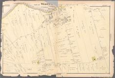Part of Westfield Staten Island New York, New York City Map, New York Public Library, Maps, Digital, Blue Prints, Map