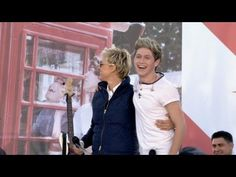 Exclusive! Ellen and One Direction Commercial Break--and now I'm smiling like an idiot