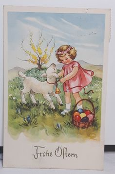 Vintage Cards, Vintage Postcards, Nostalgic Pictures, Old Cards, Easter Art, Easter Parade, Vintage Easter, Illustrations And Posters, Cute Drawings