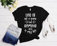 Gamers T-Shirt Gift for Gamer Gaming Shirt Funny Shirt For | Etsy