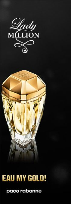 Paco Rabanne Lady Million Eau My Gold. This smells so good x