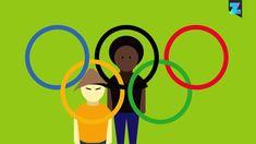 De Olympische vlag: Waar komen die kleuren vandaan?