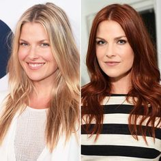 Ali Larter Dyes Her Strands Red! See Her Dramatic New Look - Modern Hair Color Auburn, Auburn Hair, Red Hair Color, Ali Larter, 2015 Hairstyles, Celebrity Hairstyles, Wedding Hairstyles, Short Hairstyles, U Cut Hairstyle
