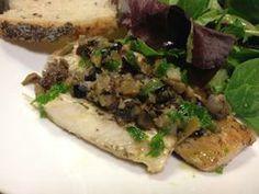 Mediterranean Mahi Mahi With Olive and Shallot Tapenade