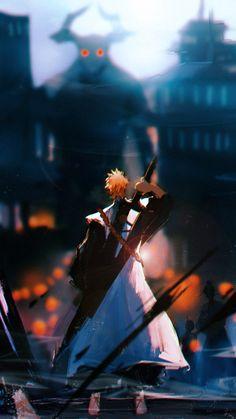 Bleach Anime Art, Bleach Fanart, Bleach Manga, Anime Wallpaper Phone, Cool Anime Wallpapers, Animes Wallpapers, Ichigo Kurosaki Wallpaper, Bleach Ichigo Bankai, Bleach Pictures