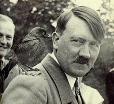 Hitler and little crow.