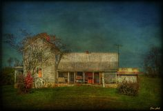 """""""No Cable""""  by ChristopherLeeHewitt    An old abandoned farm house I found in Tennessee"""
