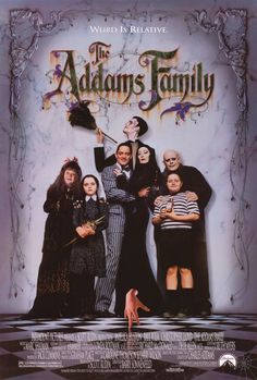 The Addams Family 27x40 Movie Poster (1991)