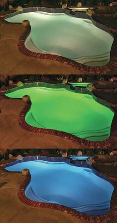 LED Lighting Systems for In Ground Swimming Pools