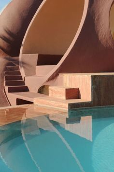 Le Palais bulles is the most groovy house ever ! Architecture Design, Organic Architecture, Amazing Architecture, Minimalist Architecture, Landscape Architecture, Pavilion Architecture, Residential Architecture, Contemporary Architecture, Exterior Design