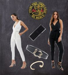 Glam DIY version of a Cobra Kai costume for Halloween. Don't waste money on things you'll never use again (unless you already have a gi and know karate!) Diy Halloween Costumes, Karate, Kai, Jumpsuit, Money, How To Wear, Dresses, Fashion, Overalls