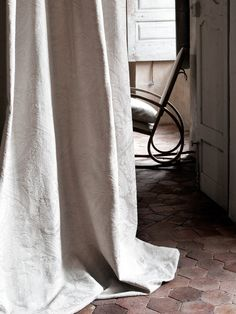 Lizzo Fabric Editor: New Collection Capri Interior Exterior, Interior Design, Capri, Dappled Light, Clay Tiles, Linen Curtains, Shower Curtains, Mediterranean Style, Wabi Sabi
