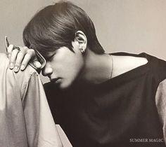 Kim Taehyung BTS X Non-No Magazine | Cr. SUMMER MAGIC